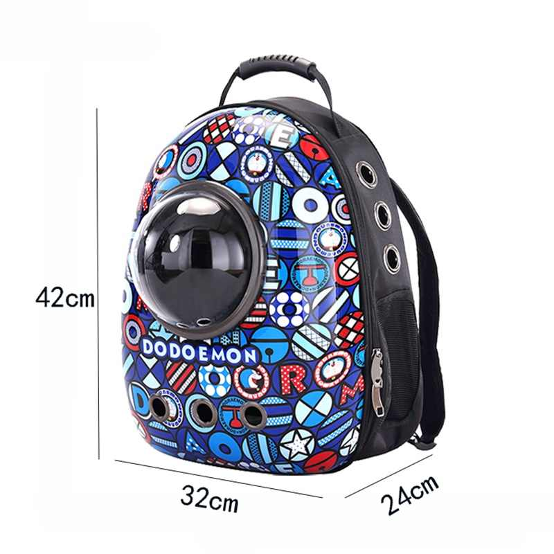 a7fb2241f29 ... Cat Backpack Window Astronaut Bag For Cat Backpack Carrier For Capsule  Corp Capsule Dogs Buggy Fashion ...