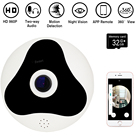 DAYTECH Wireless IP Camera WiFi HD 960P Home Security Camera 360 degree Panoramic Camera for Baby Monitor/Shop 32G Card VR02