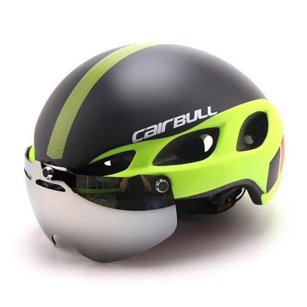 Cycling Helmet In-mold Road Mountain Bicycle Helmet Ultralight Bike Helmet With Lens цена