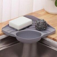 Творческий кухня решетка для слива раковины Организатор Multi-function Home кухонная ткань для посуды стеллаж для хранения сушка на подносе корзина