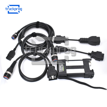 Diagnostic Scanner VOCOM II Adapter Interface with diagnostic cable for volvo Heavy Duty Truck construction Equipment diagnosis