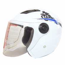 New Men Women Warm Motorcycle Motorbike Riding Scooter Half Face Helmet Safe High Quality
