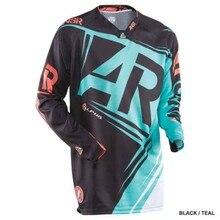 Wholesale MOTO White new brand long moto Jersey for man MX MTB Off Road Mountain Bike DH Bicycle BMX motocross Je