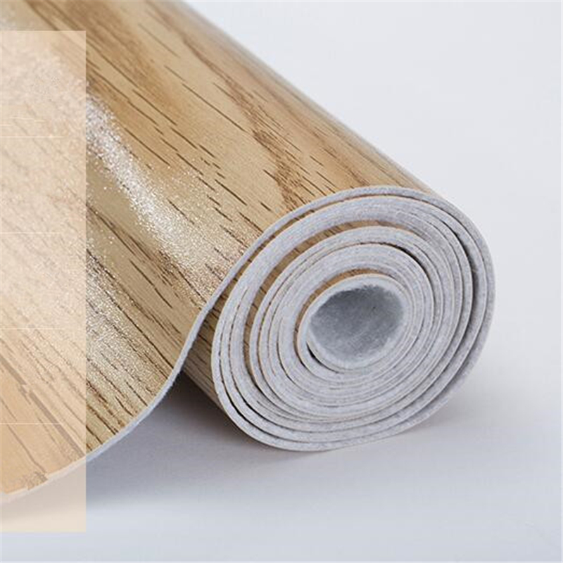 New Floor Leather Pvc Floor Sticker 2.6mm Thick Wear-resistant Waterproof Commercial Office Renovation Marble Plastic Wood Floor