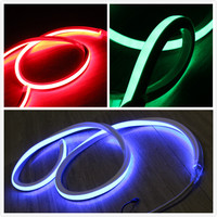 33 ft 10m reel 110V Flexible RGB Neon Lighting Soft Tube Lights Strip Square 16x16mm color changing with controller