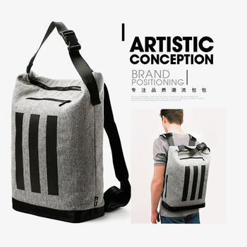 Fashion Men Business 15.6 inch Laptop Backpack Canvas School Travel Unisex Bag for 15.6 inch Lenovo G570AH-ITH bag