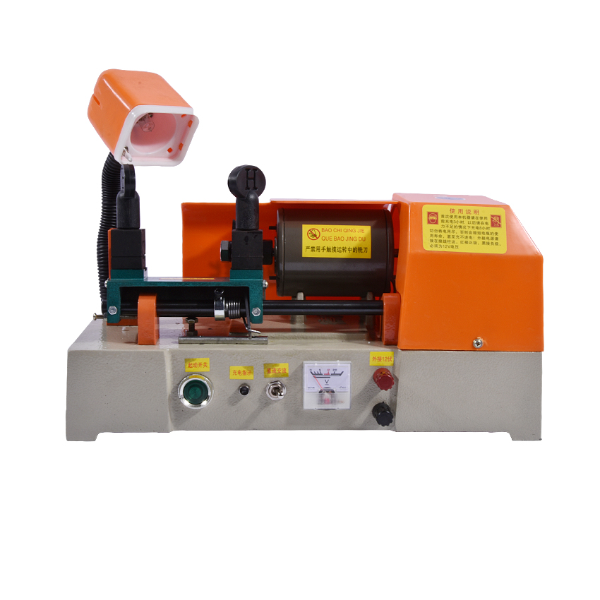 DF-238A Key Cutting Machine Key Copy Machine For car/door/house/factory Lock key machine with battery locksmith tools 1200 r/min t handle vending machine pop up tubular cylinder lock w 3 keys vendo vending machine lock serving coffee drink and so on