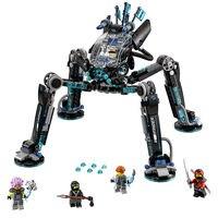 Lepin Ninjagoe Movie 538pcs Building Blocks toys for Childrens Bricks Water Striders gifts Compatible Legoe Ninjagoe 70611