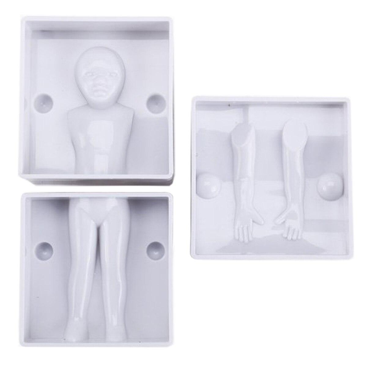4x moule 3D homme femme garcon fille Emporte-piece Pate a sucre Gateau Figurine