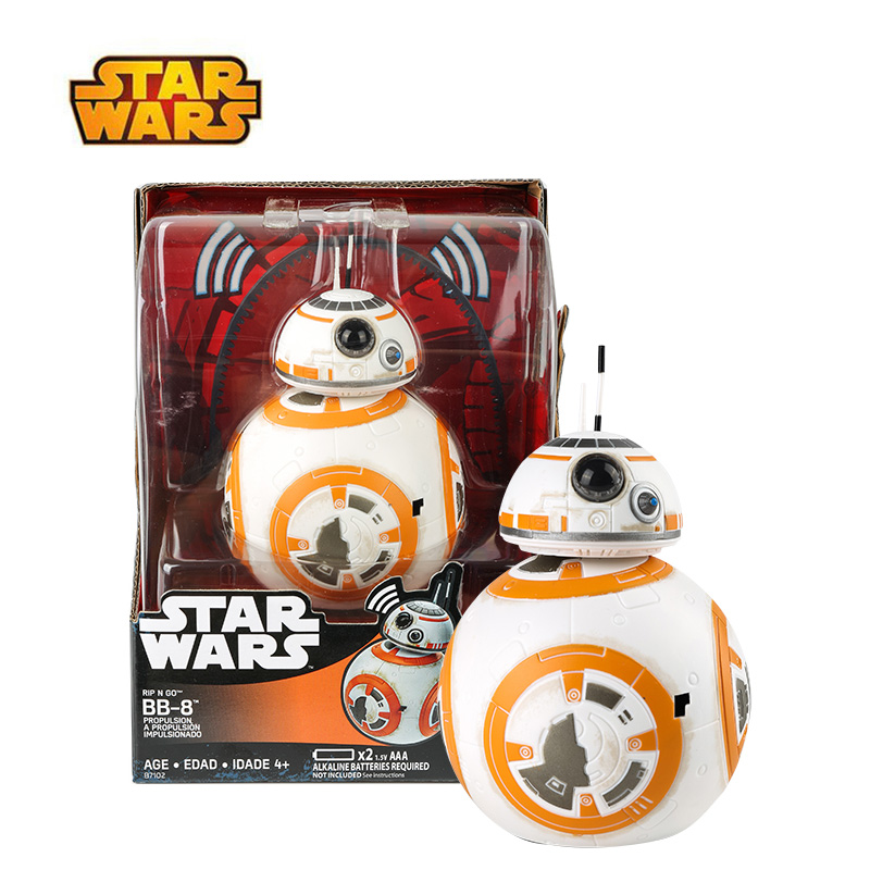 Original Star Wars Rip N Go BB-8 S1 Hero Robot Moive Sounds Action Figure Collection Doll Gift Toy For Kid BoyOriginal Star Wars Rip N Go BB-8 S1 Hero Robot Moive Sounds Action Figure Collection Doll Gift Toy For Kid Boy