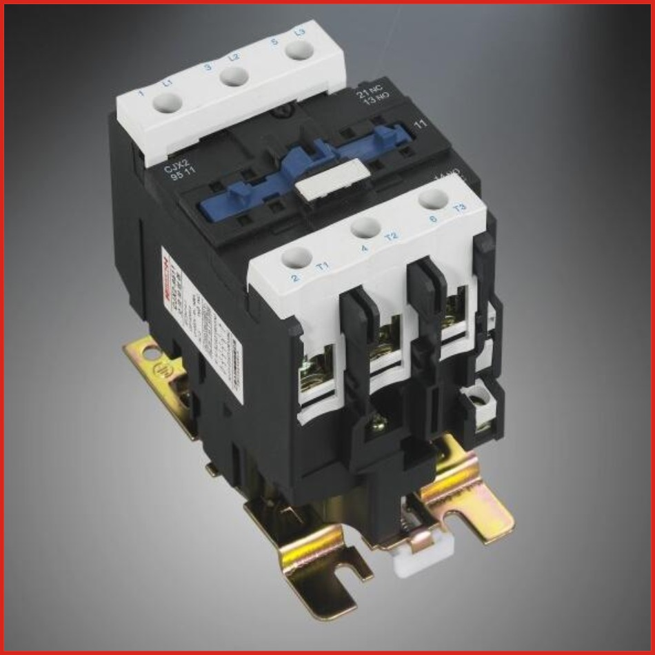 Contactor DC AC contactor 220V 380V low voltage apparatus switch mini hdmi LC1D series contactor old type CJX2-D95(LC1-D95)