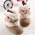 New Fashion Baby 4 Corlor Boots Infant Warm Winter Baby Boy&Girl/Menina Shoes/Boots Bebe Non-slip Toddler Snow Booties
