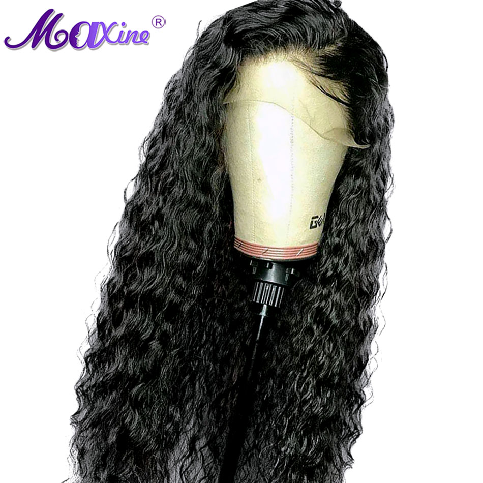 Malaysian Curly Wig Glueless 360 Lace Wig Preplucked And Bleached Knots Remy Hair 130 Density 10