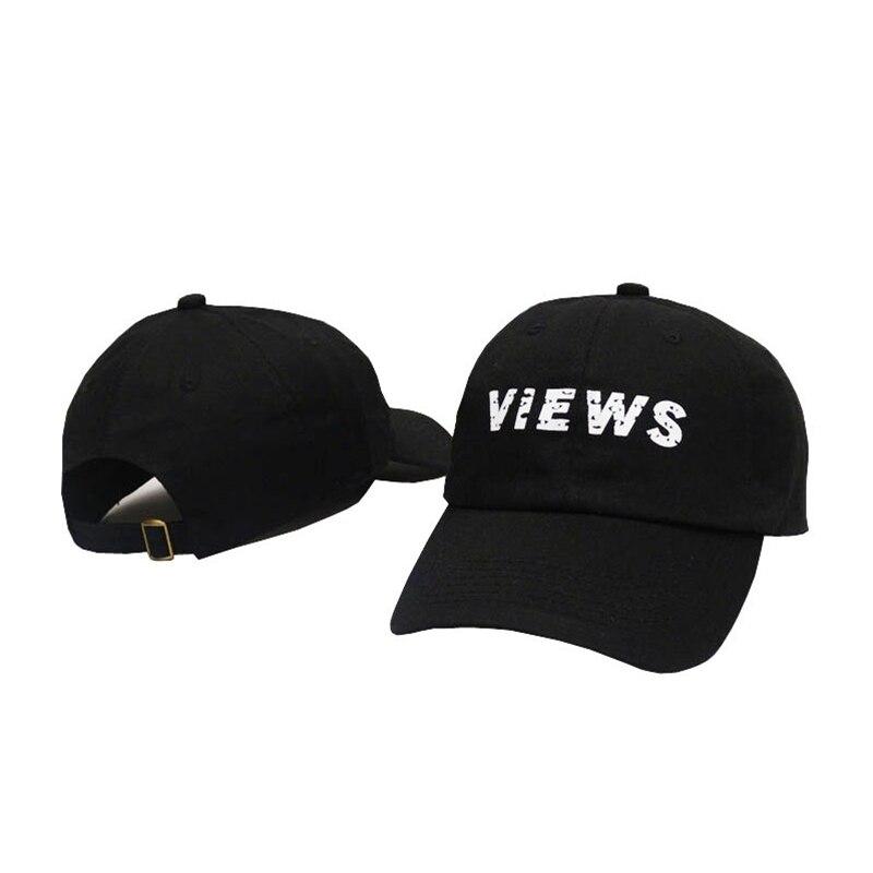 2016 High Quality VIEWS Print gorras Baseball Caps fashion Men Letter Snapback skateboard kpop hat Women osso berretto uomo