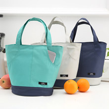 waterproof oxford cooler bag thermal cool lunch picnic handbag ice pack insulated supermarket shop insulation tote bag for food(China)