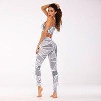 GXQIL Sports Bra Leggings Kits New Arrival Women Yoga Sets Female Sportswear Fitness Gym Clothes Sporty Workout Uniform 2018 S L