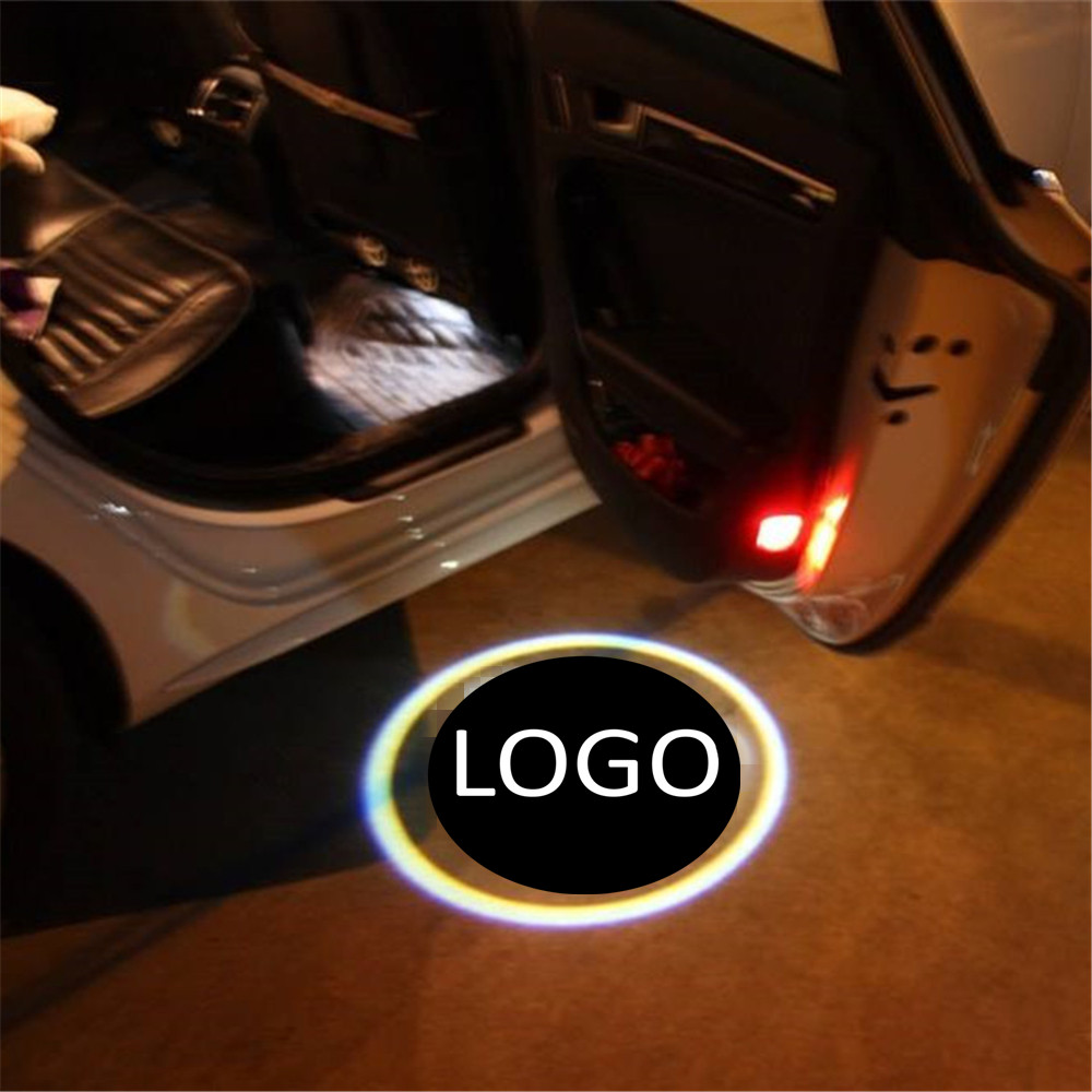 JingXiangFeng Welcome Light Car Door Courtesy Ghost Shadow LOGO Projector Laser For Jaguar F-TYPE 2013-2017