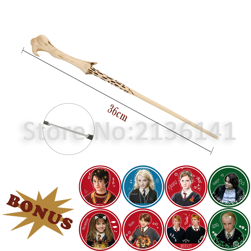 Harry Wands Colsplay Dumbledore Hermione Snape Ron Magical Wand Metal Iron Core Magic Wands No Box