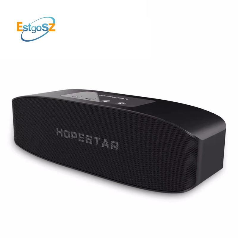 EStgoSZ HOPESTAR H11 Bluetooth Speaker Hifi Wireless Soundbar Dual Bass Stereo Support USB TF AUX FM