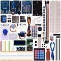 Miroad projetos de Atualização de Mestre RFID Starter Kit para Arduino UNO R3 com Tutoriais RC522 RFID Módulo Sensor LCD Servo Motor DC K25