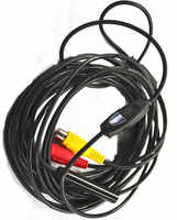 AV10M DC-12V Water-proof IP67 CMOS borescope AV endoscope camera