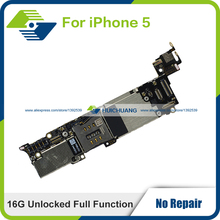Genuine High Quality Logic Board 16GB for iPhone 5 5G Unlocked Full Function Replace Motherboard 100% working