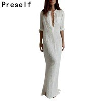 New-Women-Lady-Fashion-V-Neck-Pocket-Linen-Blouse-Casual-Long-Split-Maxi-Dress-Vestidos.jpg_200x200