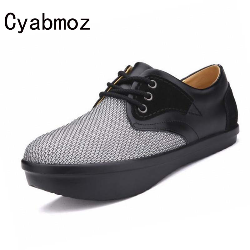 men's breathable mesh casual shoes health care negative heel humpback  lumbar disc correction shoes beforefrom high to low shoes|casual shoes|low  shoesmen shoes breathable - AliExpress