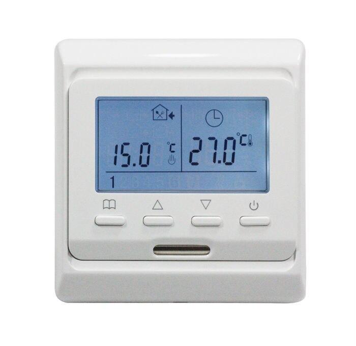 Serie TF E51.716 termostato de programación semanal con pantalla LCD altamente recomendado gran venta en el mercado ruso y británico-in Piezas de calentadores eléctricos from Electrodomésticos    1