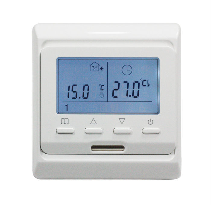TF Series E51.716 Weekly Programming Thermostat with LCD screen Highly Recommends Hot Sale on the Russia and UK market  holtek all series e writer pro e writerpro programming for mcu encryption verify