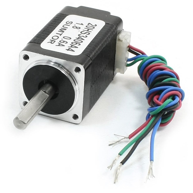 New Style Nema8 4 Lead CNC Router Mill Stepping Stepper Motor 34mm 0.6A 2.5oz.in new stepping stones coursebook global no 3 new stepping stones