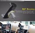 Mejor Universal de 360 Grados Mini Stents Holder Salida de Aire Del Coche vent mount soporte para iphone 5 6 plus samsung s6 htc