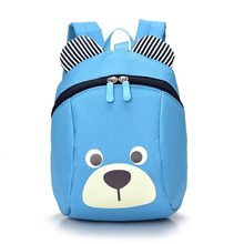 Cute bear Baby Safety Harness Backpack Toddler Anti-lost Bag Children extremely durable sturdy and comfortable Schoolbag(China)