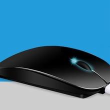 NOYOKERE Новый ультра тонкий 1600 dpi USB оптическая беспроводная компьютерная мышь 2,4G приемник очень тонкая мышь для ПК ноутбук Настольный