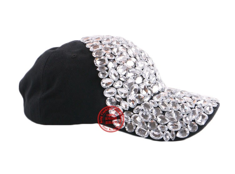 wholesale best qaulity woman snapback gorras new design clear whole beads rhinestone  women luxury baseball cap brand casquette 2772a6ef0223