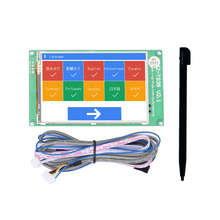 Jz-Ts35 3.5-Inch Touch Screen Display Board Compatible With Ramps1.4 Mega2560 Marlin 3D Printer Accessories jz 8 360 jzm 194
