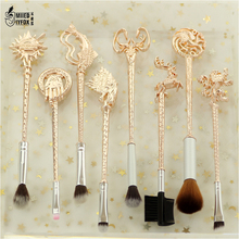 """8pc Game of Thrones """"Winter is coming"""" Makeup/Cosmetic Brush"""