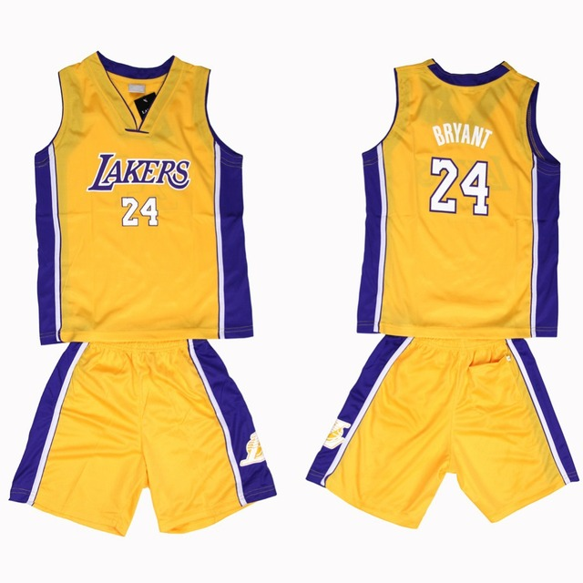 free shipping new 2015 basketball suits for baby boys Jersey + Shorts 2pcs  mesh jersey tracksuit for summer boy s suitsACS14097 453890f18