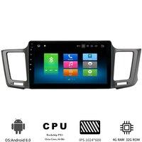 Android 8,0 стерео головное устройство для Toyota RAV4 2013 2017 для Toyota Previa Rav 4 мультимедиа автомобильный радиоприемник проигрыватель gps навигации 4 Гб + 32