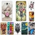 Прохладный Моды Soft Phone Case Cover For Samsung Galaxy J5 2015 J500M J500F Мягкие Силиконовые ТПУ Телефон Дела Для Samsung J5 J 5 2015