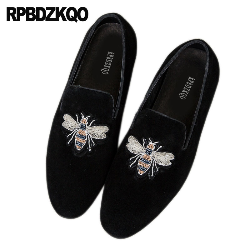 Large Size Bee Loafers Party Boys