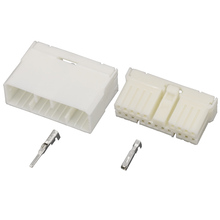 5 Sets 20 pin white plastic solder plate pin connector PCB board connector  bent needle with terminal DJ7201-1.8-10 / 21 20P стоимость