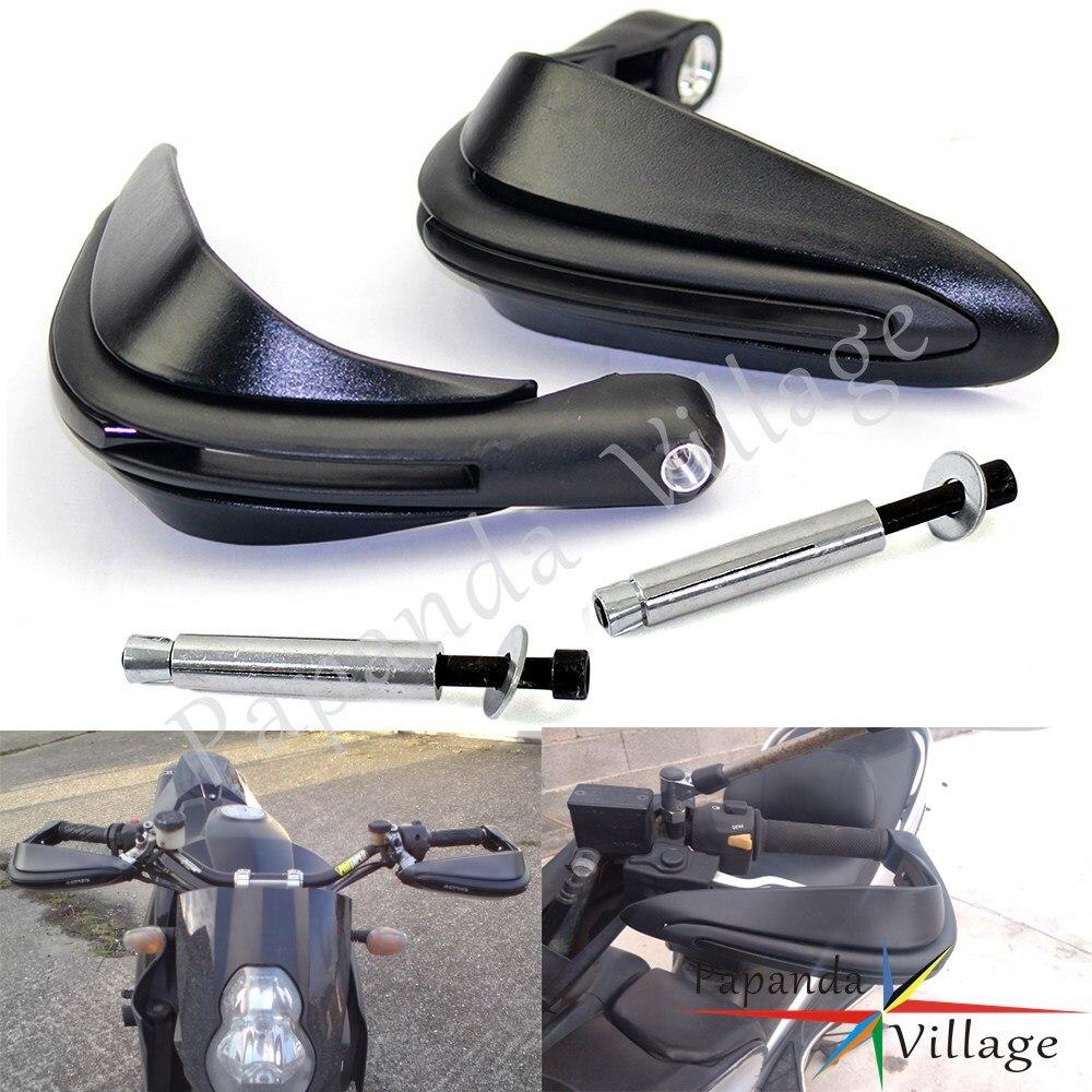 "Motorcycle Motocross Dual Road Dual Sport Super Moto 7/8"" 22mm Matte Black Handguards For FZ6 FZ1 08-09 Black Hand Guards(China)"