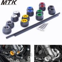 MTKRACING CNC Modified Motorcycle drop ball / shock absorber for YAMAHA MT 07 MT 07 2015 2016
