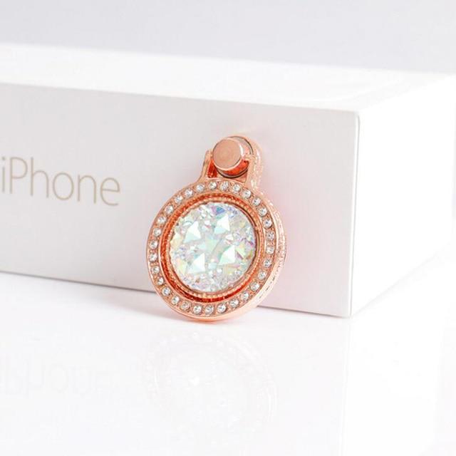 Luxury Finger Ring Smartphone Holder 1