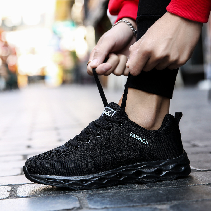 casual running shoes for men slip on sneakers outdoor fitness