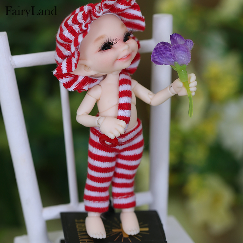 FreeShipping Fairyland Realpuki Soso Bjd 1/13  Body Model  Baby Girls Boys Dolls Eyes High Quality Toys Shop  Resin Anime