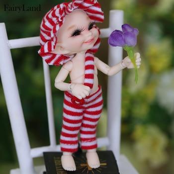 FreeShipping Fairyland realpuki soso bjd 1/13  body model  baby girls boys dolls eyes High Quality toys shop  resin anime freeshipping fairyland realpuki tyni doll bjd 1 13 pink smile elves toys gift