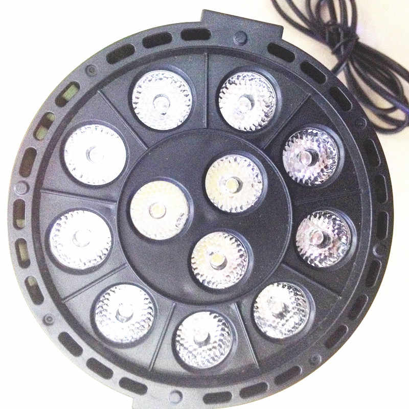Peralatan DJ Controller DMX512 Master Slave Datar 18*3 W 12 W RGBW RGB Led Tahap Cahaya 110 V 220 V Cahaya Setara Dengan untuk Partai Disco