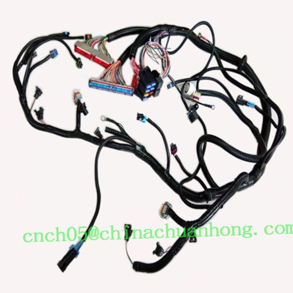 CNCH Updated TXL Wires LS1 / LS6 5.7L EV1 24X Engine Standalone LS Wiring  Harness W/4L60E Transmission|Cables, Adapters & Sockets| - AliExpressAliExpress